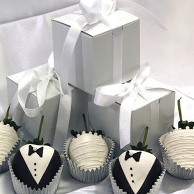 wedding favour ideas - chocolate everything
